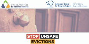 Stop Unsafe Evictions During This Pandemic Crisis