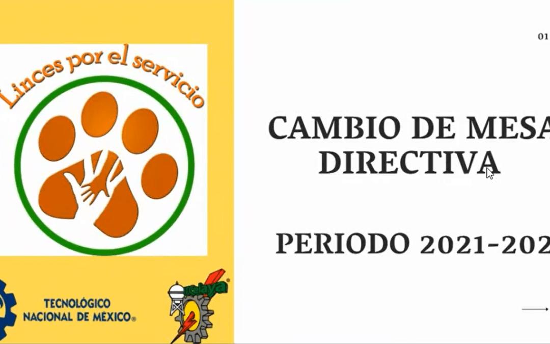 LINCES POR EL SERVICIO RENUEVA SU MESA DIRECTIVA PARA EL PERIODO 2021-2022.