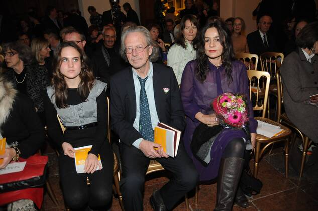 Peter-Handke-Wife-Daughter-Children
