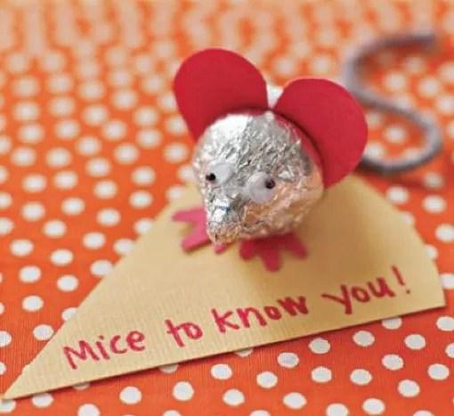 Toddler Fun Valentines Day Sweet Mice Craft Celeb Baby