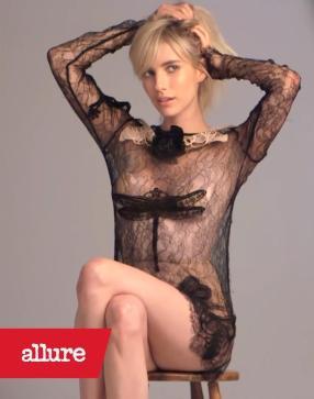 Emma Roberts Allure 2