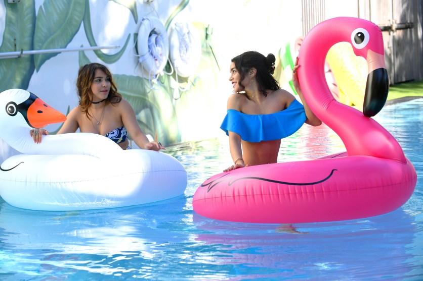 vanessa Hudgens blue bikini 9