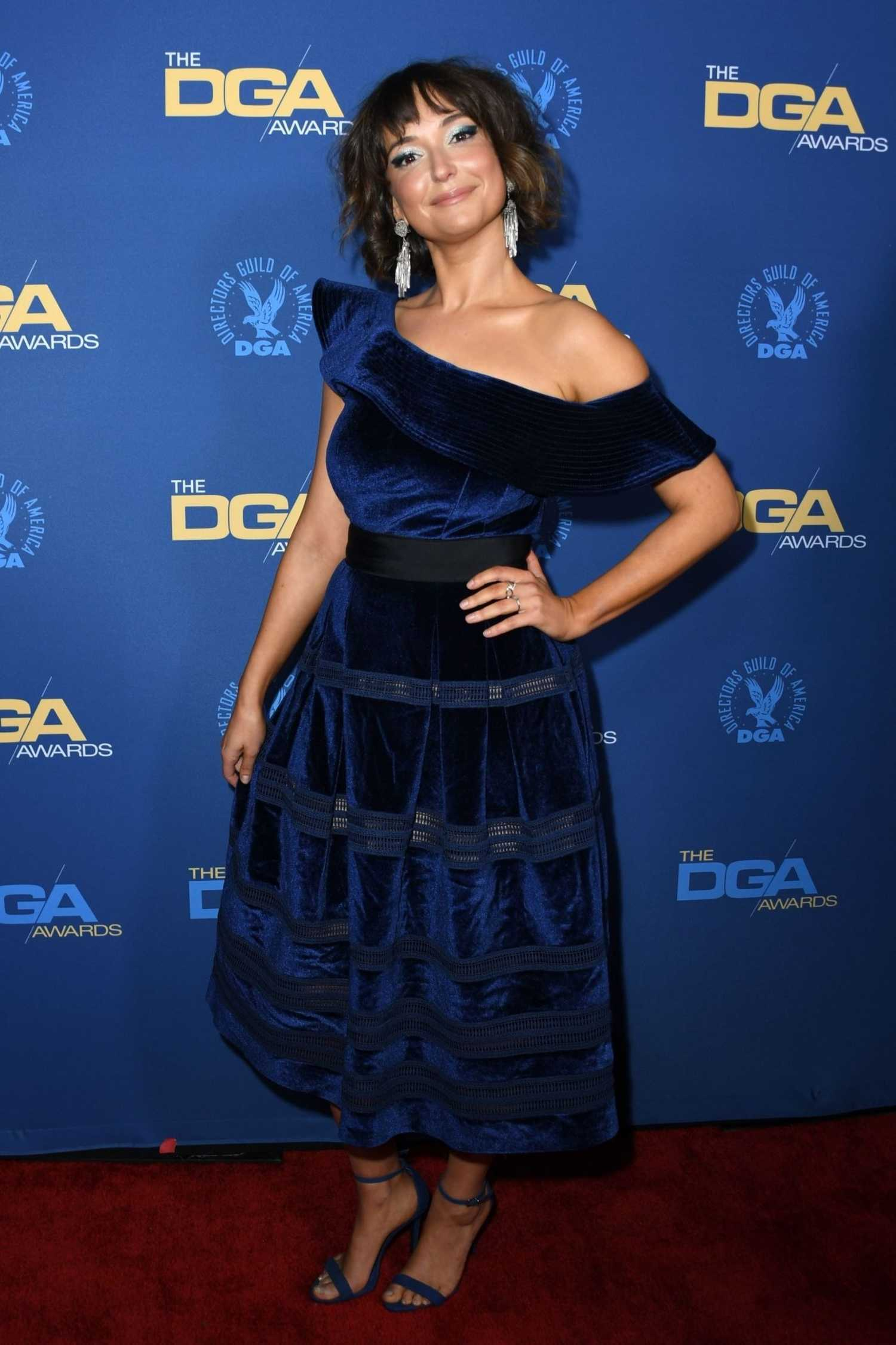 Milana Vayntrub Attends The 71st Annual Directors Guild Of