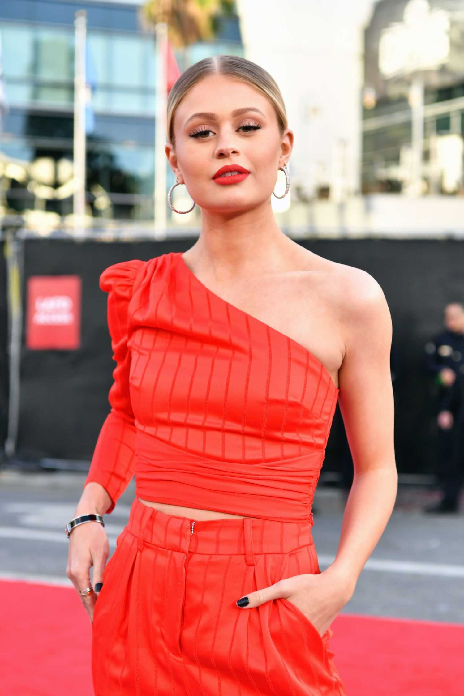 Natalie Ganzhorn Attends The American Music Awards At
