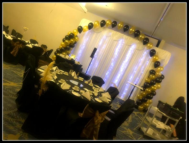 Decorated room by The Event Squad