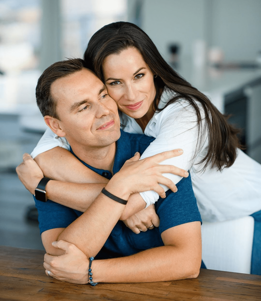 Brendon Burchard and wife