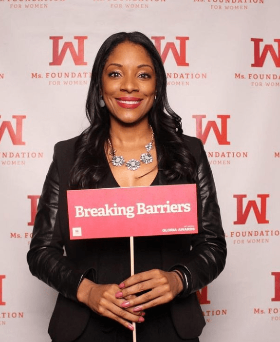 Zerlina Maxwell at Ms. Foundation for Women