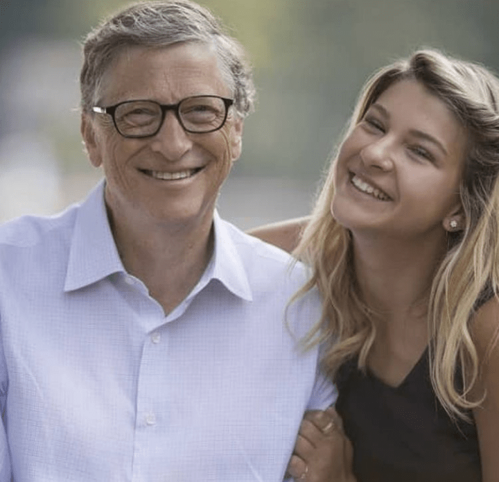Phoebe Adele Gates With Her Father, Bill Gates