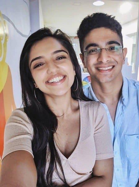 Ranveer Arora Allahbadia with his girlfriend Vaishnavi Thakker - celebinfo.wiki - images