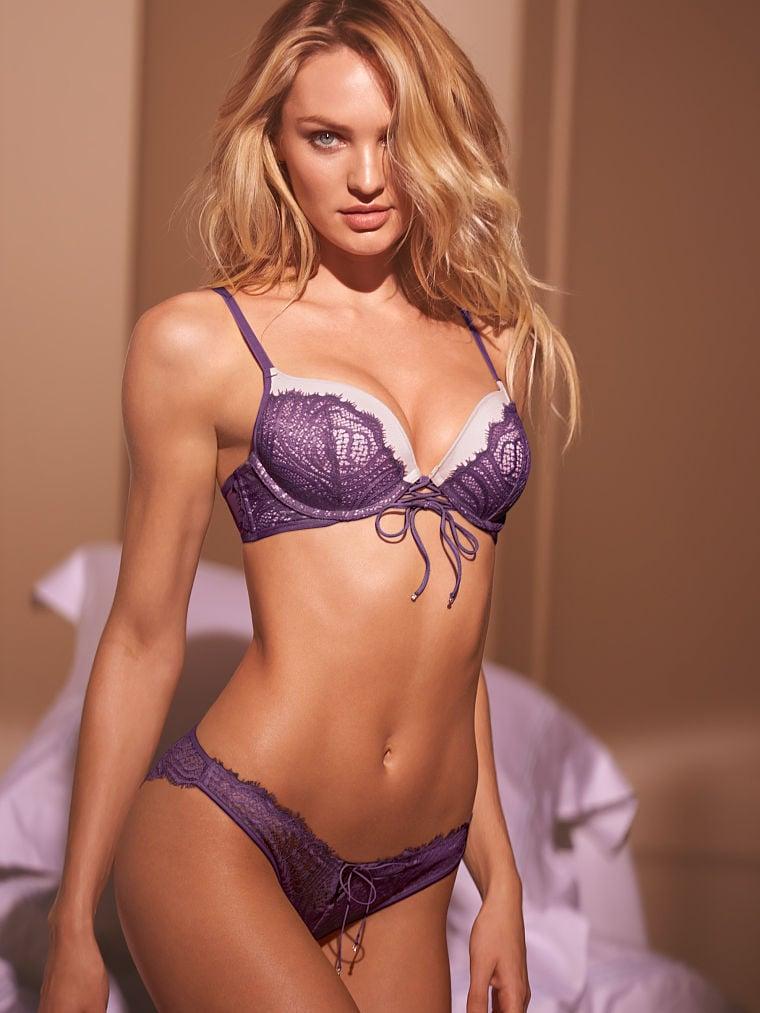The Latest Candice Swanepoel Bikini And Lingerie Pics