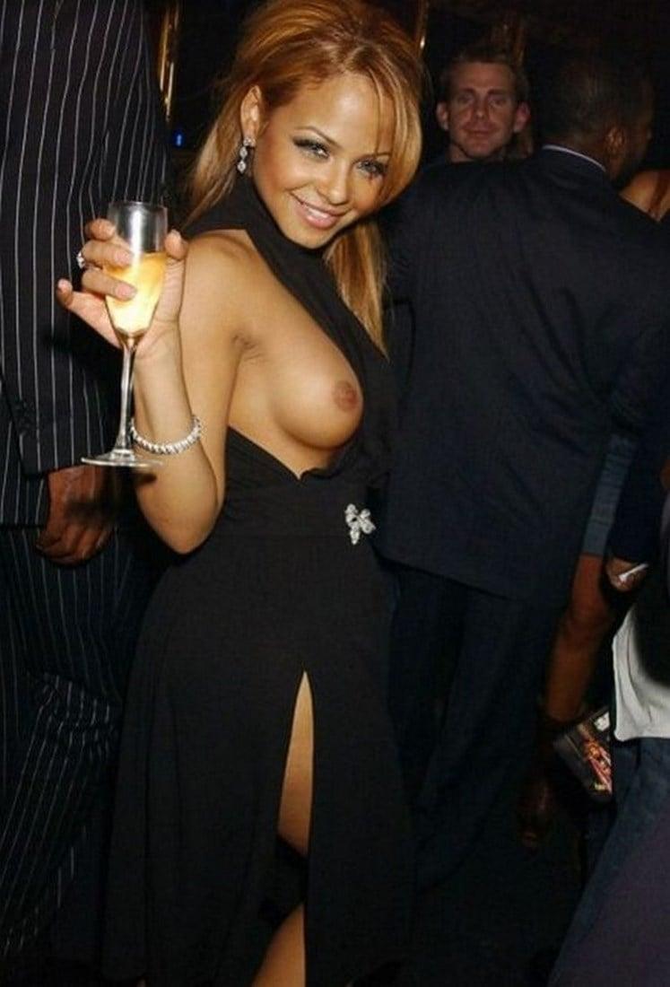 Christina Milian Nude And Nip Slip Photos Compilation
