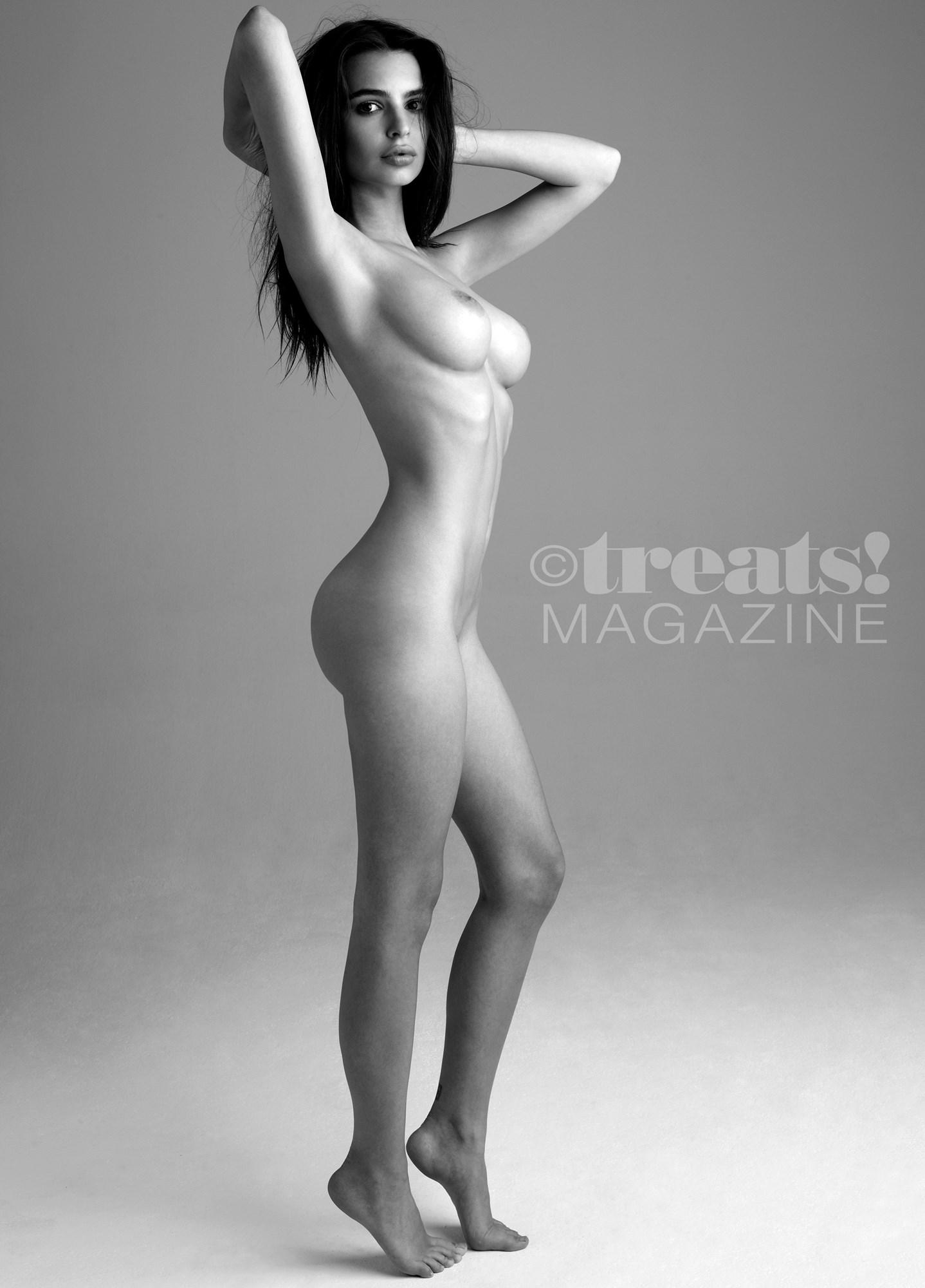 Emily Ratajkowski Nude Pussy Outtake Photos