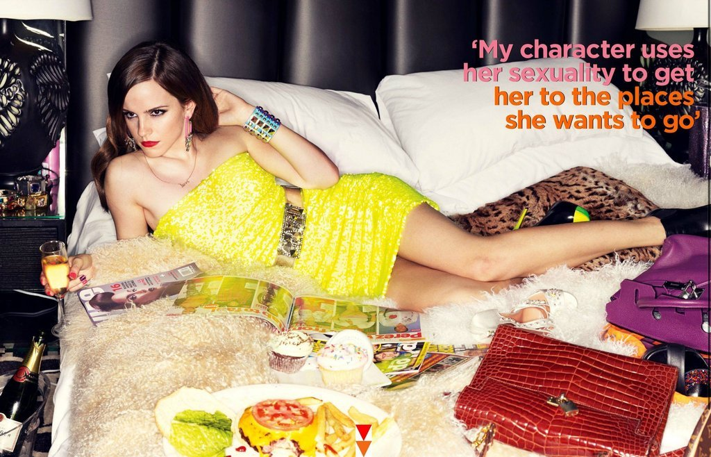 Emma Watson Sluts It Up For GQ