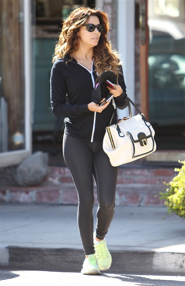 Eva Longoria's Tight Ass In Spandex Pants