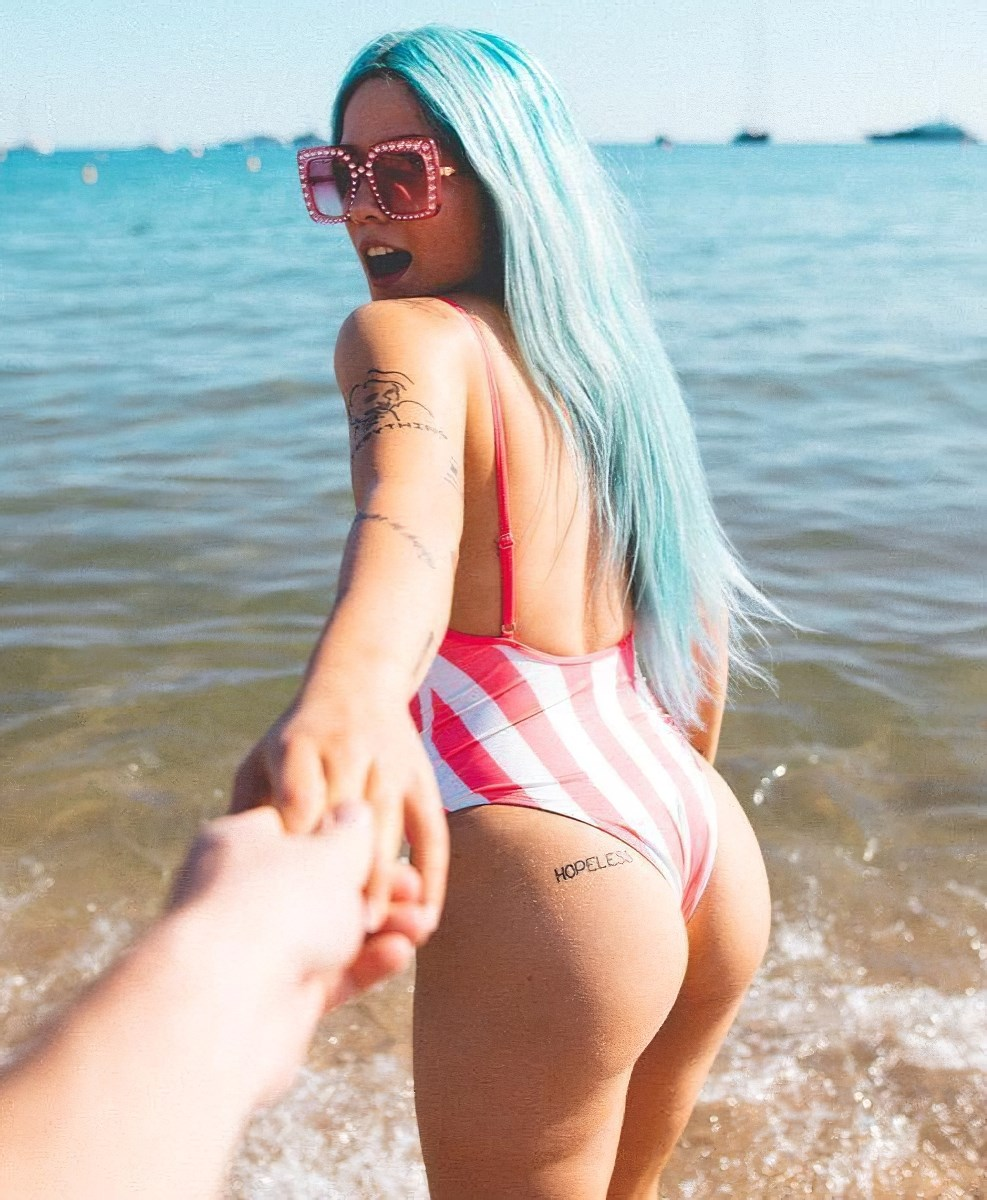 Halsey Ultimate Ass Compilation
