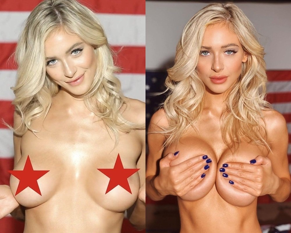 Hannah Palmer Nude Pussy Flash For America