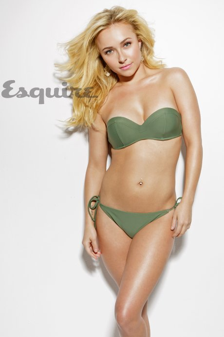 Hayden Panettiere In A Bikini For Esquire