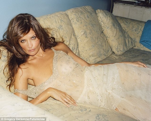 44-Year-Old Helena Christensen Nude Photo Shoot