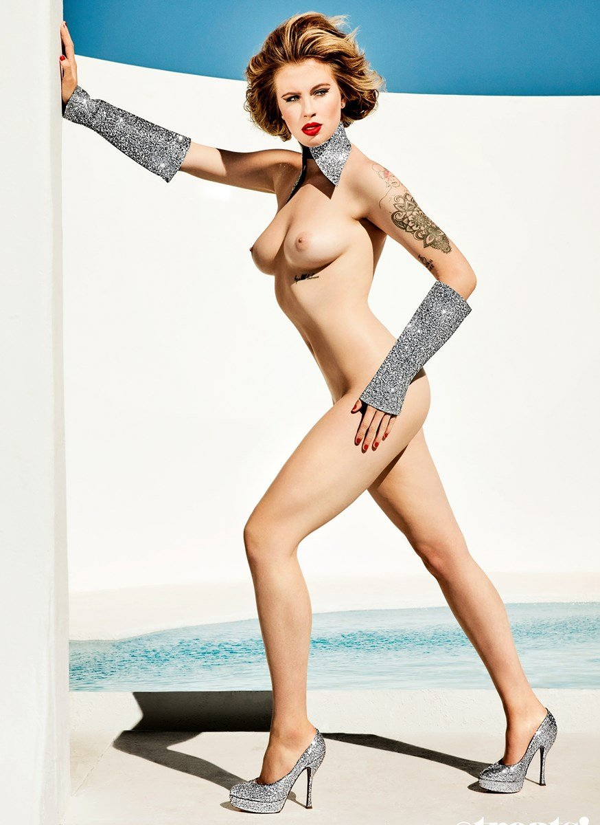 Ireland Baldwin Nude Photo Shoot Outtakes