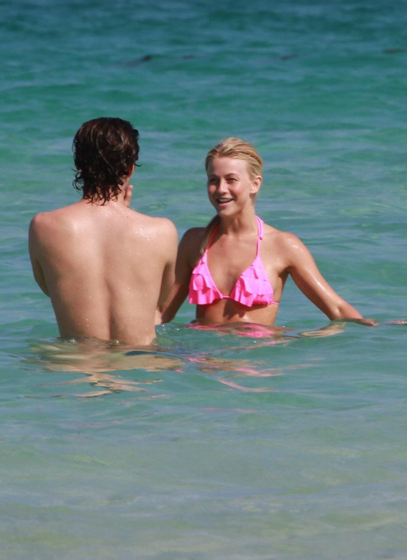 Julianne Hough Cheats In A Bikini