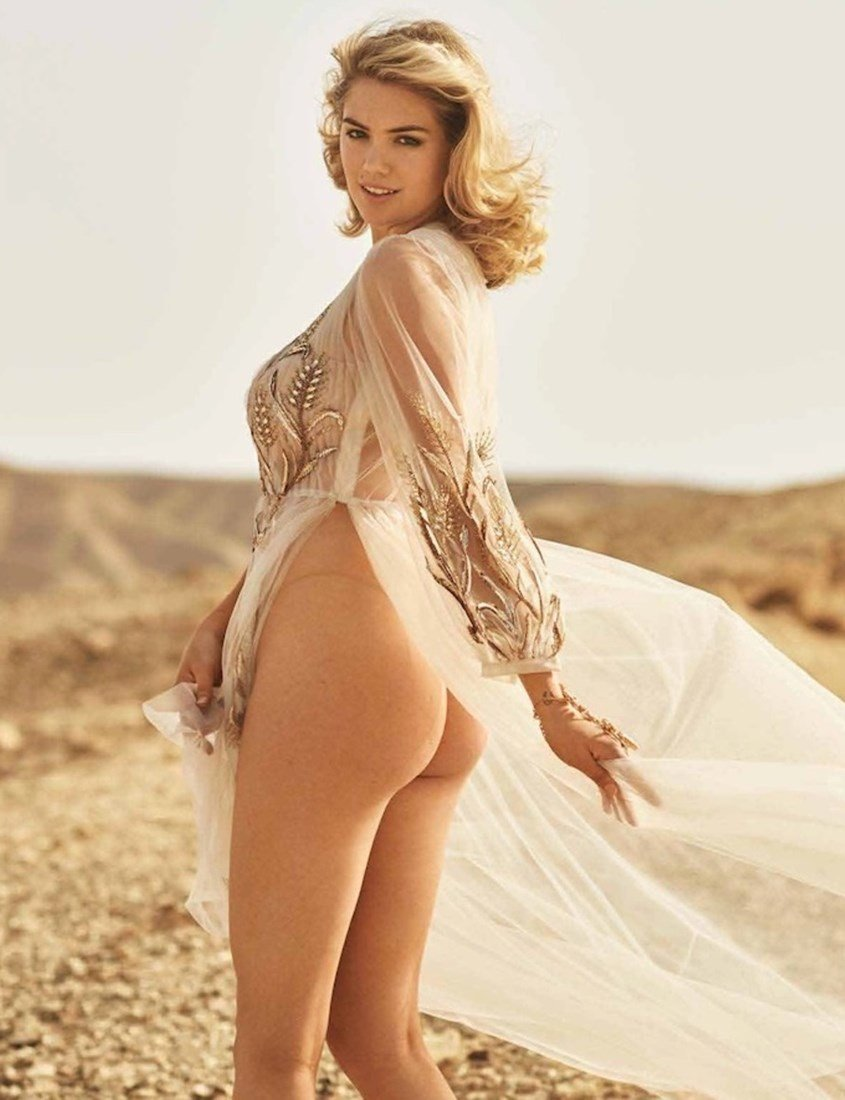 Kate Upton Celebratory Tit Flash And Nude Ass Fingering