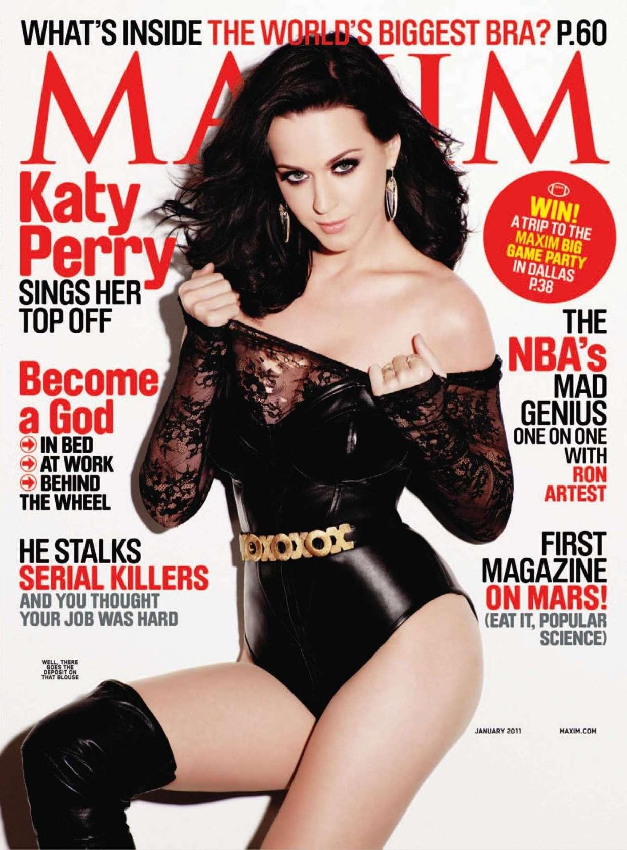 Katy Perry Pics In Maxim 2011