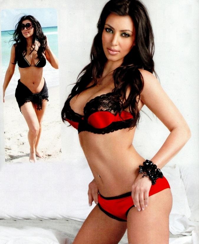 Kim Kardashian Slutty Lingerie Pics