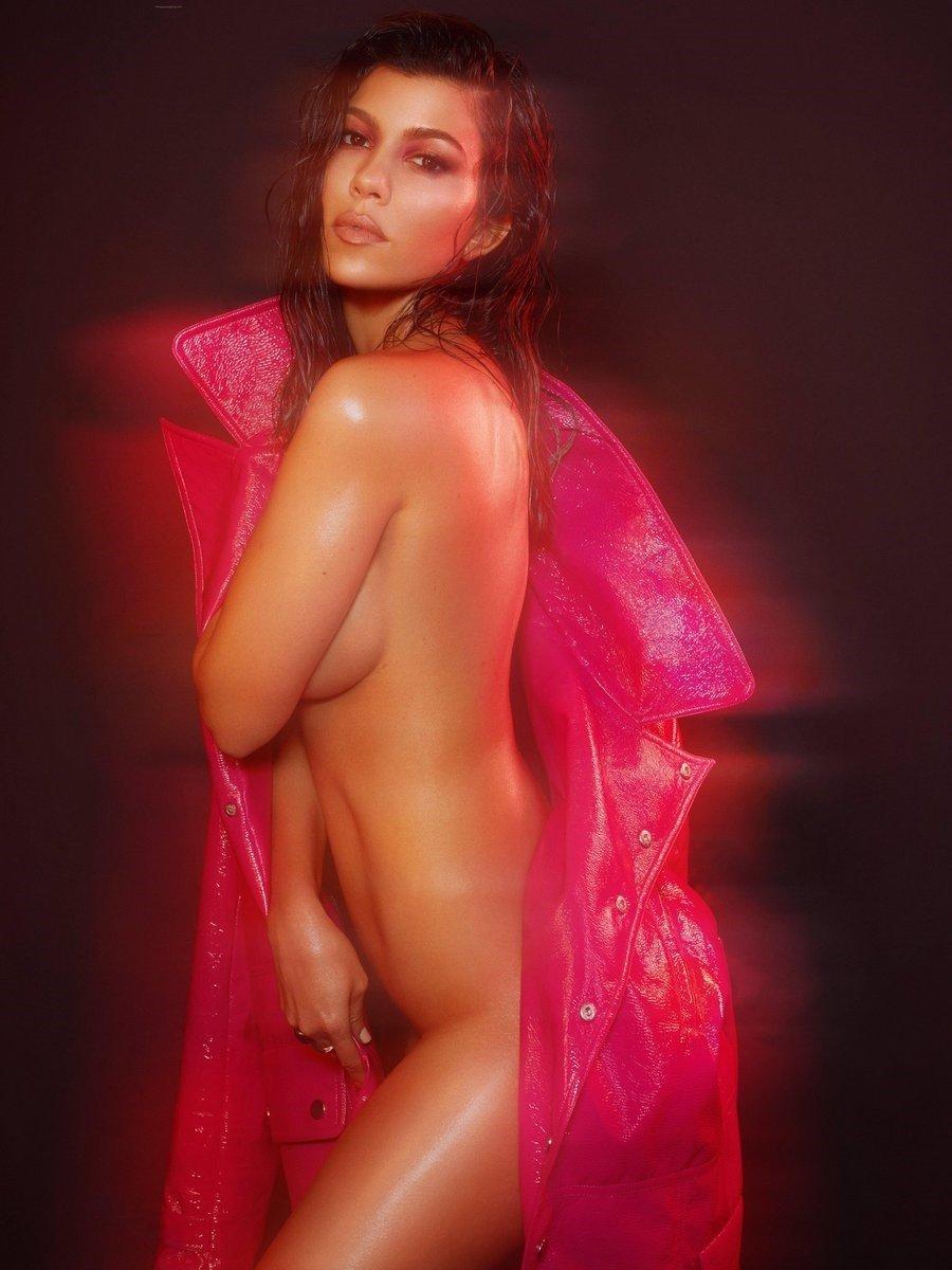Kourtney Kardashian Nude Photo Shoot Outtakes