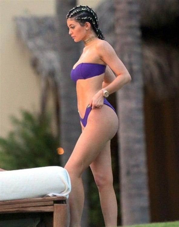 Kylie Jenner's First Thong Bikini Pics As An Adult