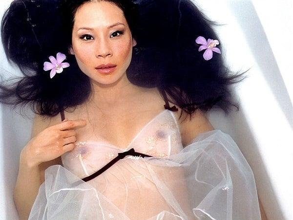 Lucy Liu Nude Photo Shoot