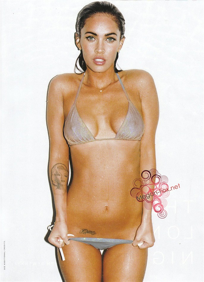 Megan Fox Pic X-Rayed To Reveal Breasts