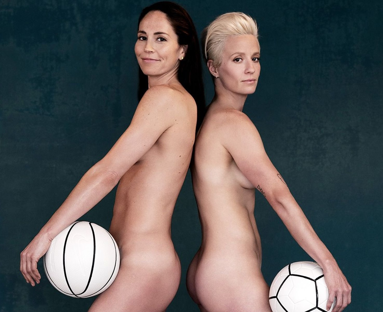 Megan Rapinoe Shows Her Nude Ass And Tells Trump To Kiss It