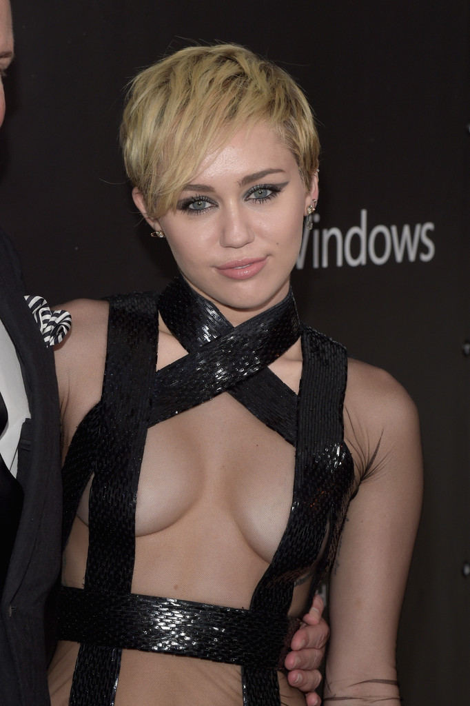 Miley Cyrus Supports Spreading AIDS In Barely There Top