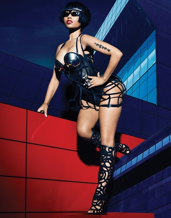 Nicki Minaj Runs Wild On The Set Of Complex Mag Photo Shoot