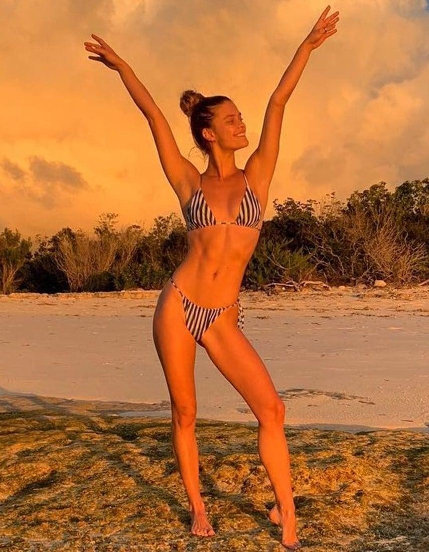 Nina Agdal Nude Vacation Teasing