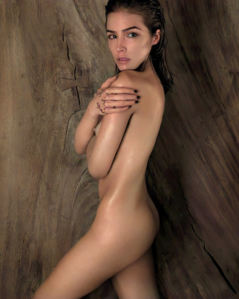 Olivia Culpo Nude Photo Shoot Colorized And Enhanced