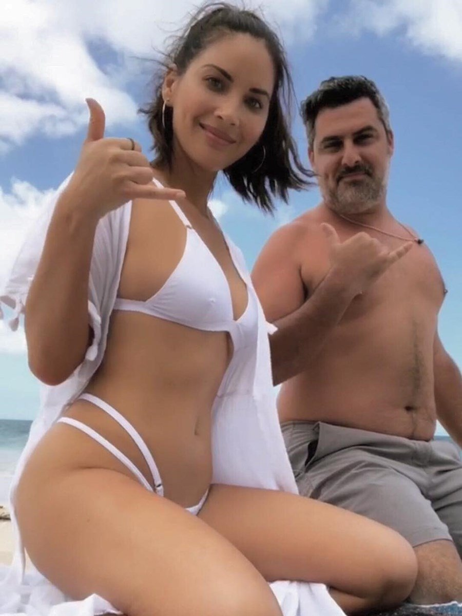 Olivia Munn's Creepy New Face Bikini Pics