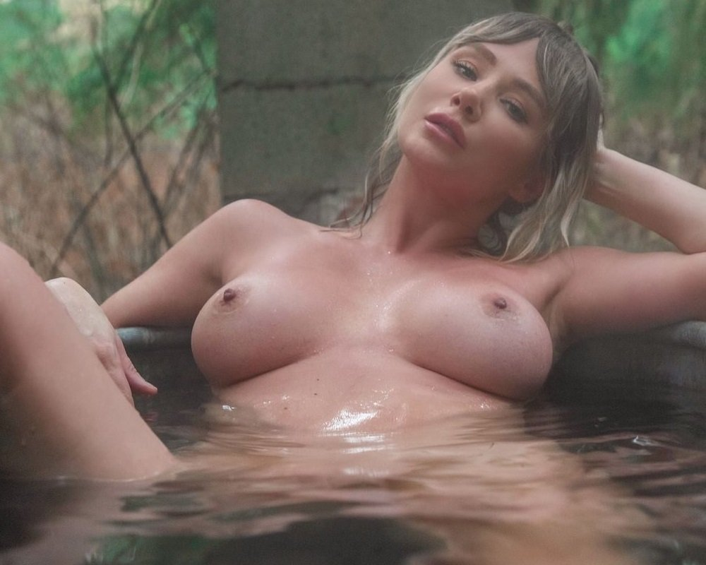 Sara Underwood Nude Camping Photos