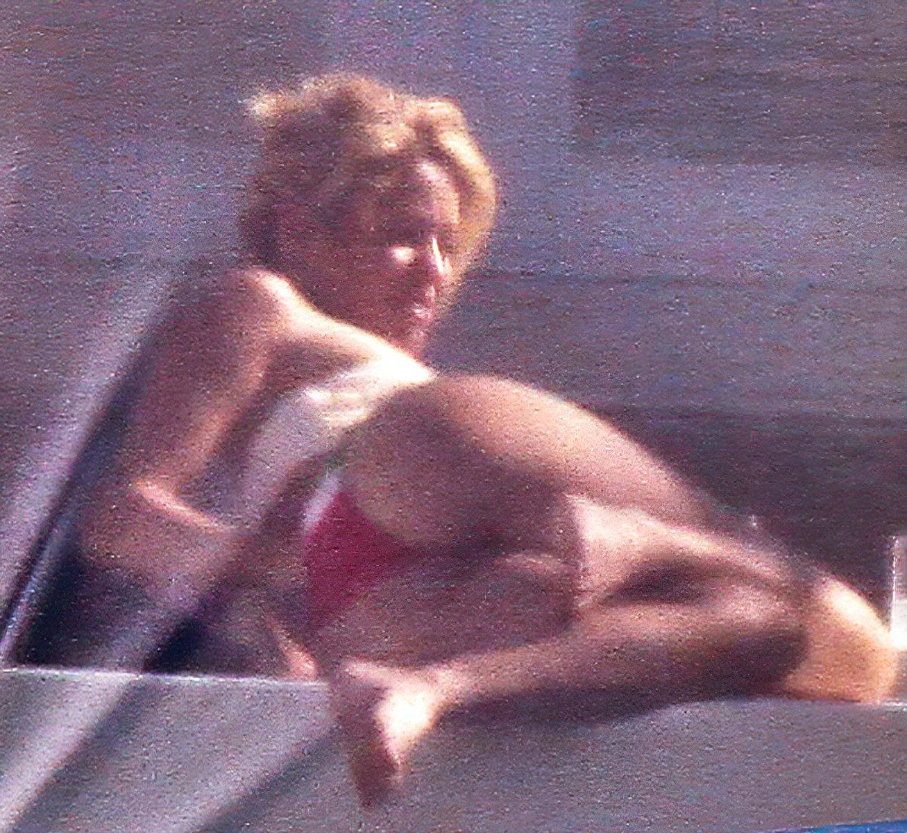 Shakira Modeling Her Ass In A Bikini