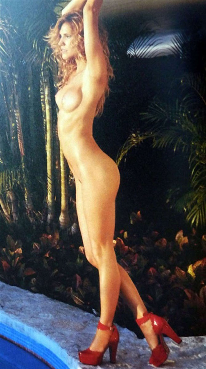 Tricia Helfer Nude Photos Collection