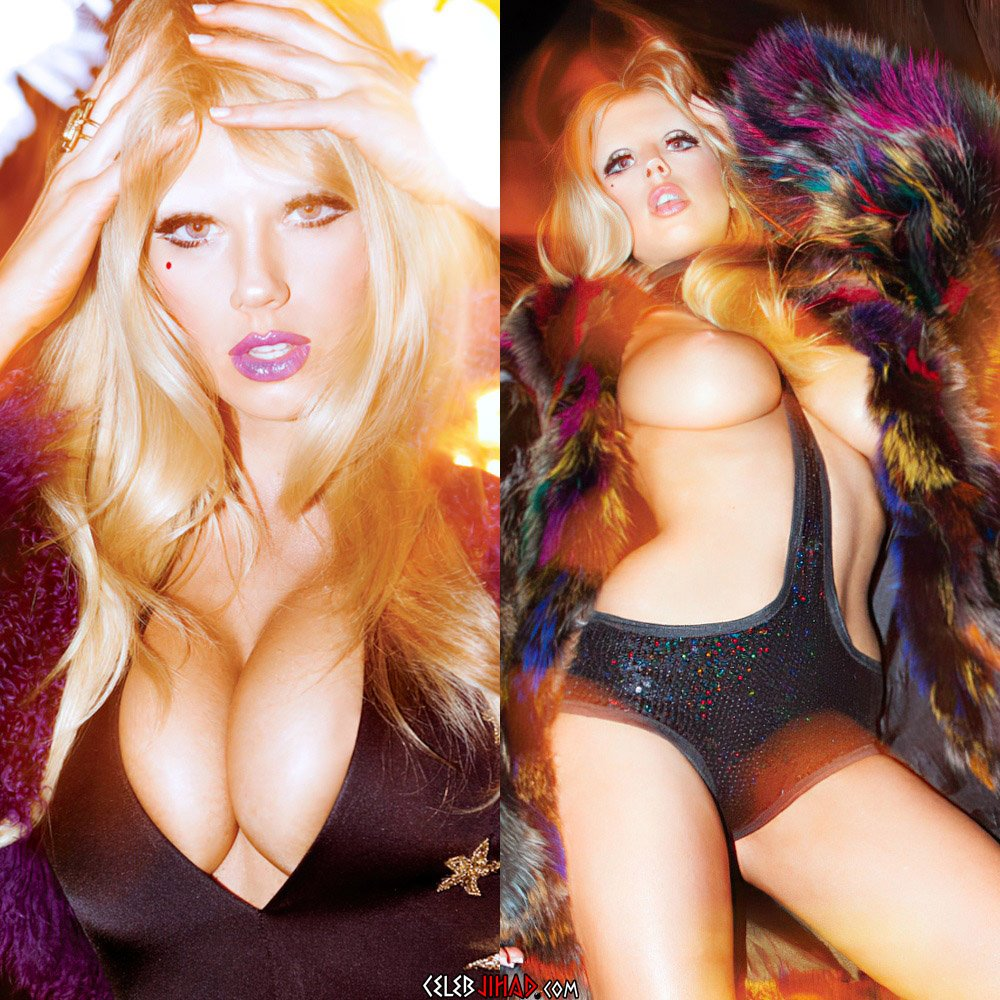 Charlotte McKinney Naked Outtake Uncovered