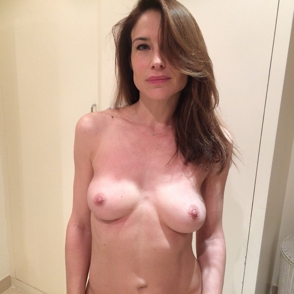Claire Forlani Nude Topless Selfies