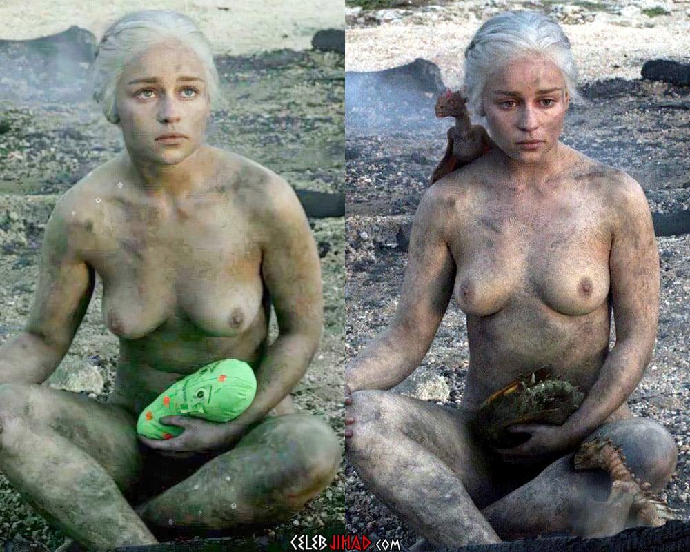 """Emilia Clarke """"Game of Thrones"""" Casting Sex"""