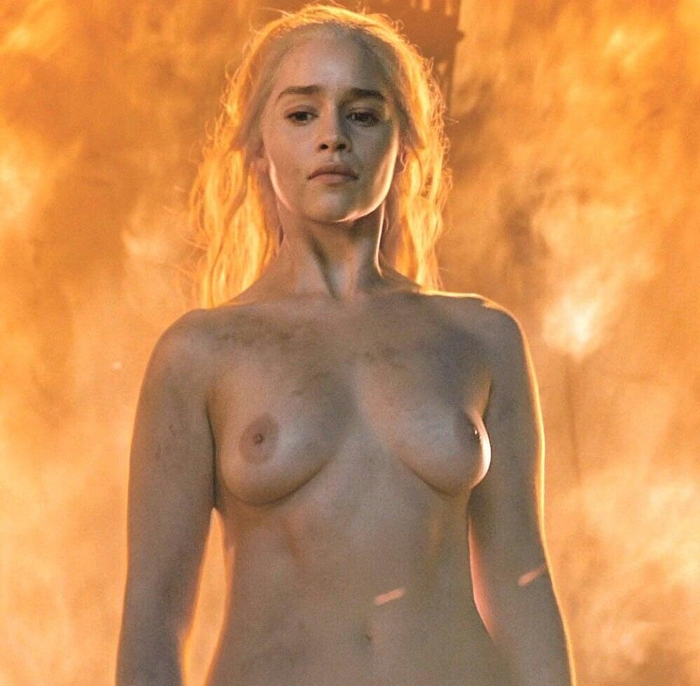 "All of Emilia Clarke's ""Game of Thrones"" Nude Scenes Brightened In HD"