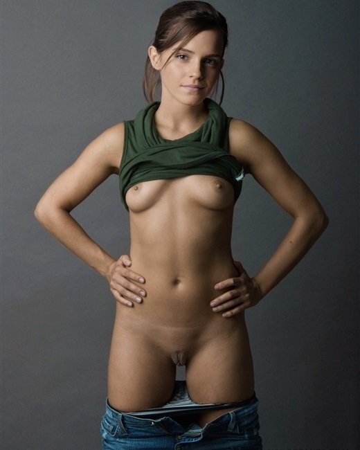 Emma Watson Shows Off Her Private Parts