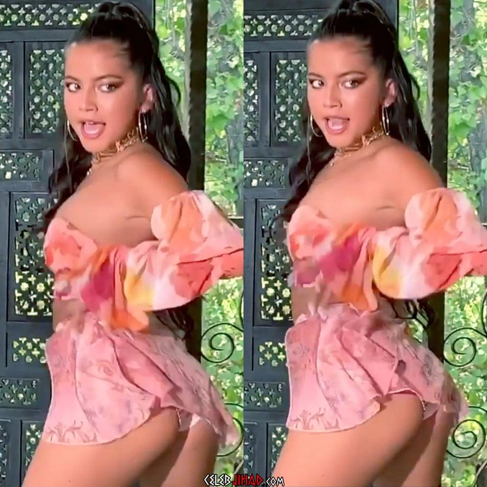 Isabela Moner Flaunts Her Tight Ass And Nip Pokies