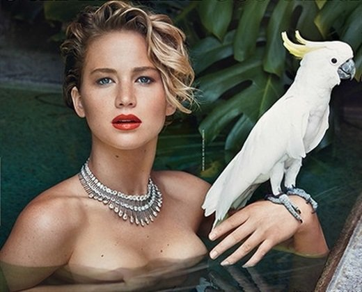 Jennifer Lawrence Topless In 'Vanity Fair' Crying About Her Leaked Nude Photos