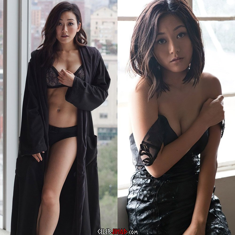 Karen Fukuhara Nude Side Boob Pic Uncovered