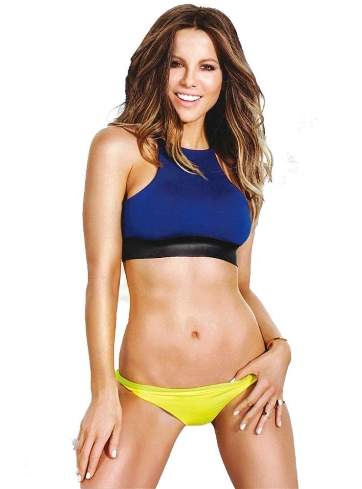 Kate Beckinsale's Tight Body In Shape Magazine