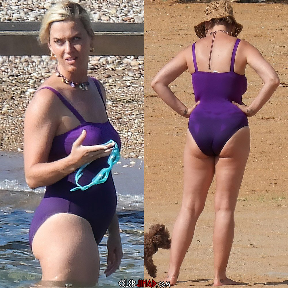 Katy Perry fat swimsuit